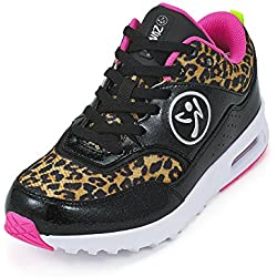 Zumba Fitness LLC Women's Zumba Air Classic Sneaker, Black-84, 11 Regular US