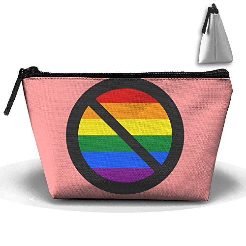 SESY Colorful Stripes Hand Bag Pouch Portable Storage Bag Clutch Handbag