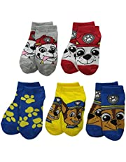 Paw Patrol Boys 5 Pack Shorty Socks