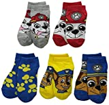 Paw Patrol Boys Nickelodeon Boys 5Pk Shorty Socks