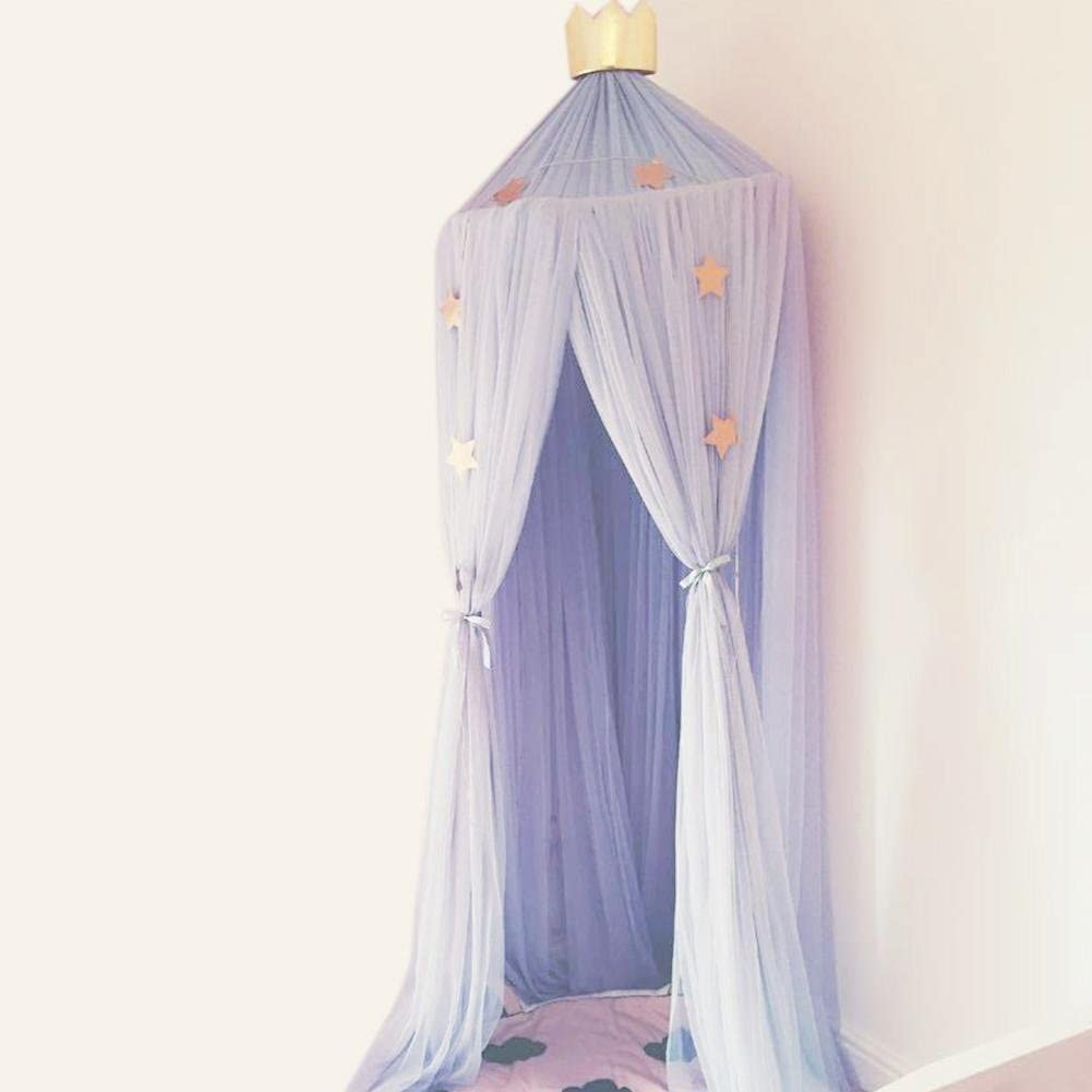 Alley.L Childrens Princess Prince Castle Game Tent Fairy Tale Kids Game Tent with Starlight Large Theater Toys//Girls Gifts Indoor and Outdoor Games