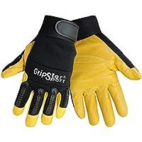 Global Glove SG2008 Gripster Goatskin Sport Premium Grade Glove with Elastic Cuff, Work, Medium