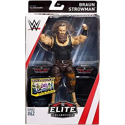 WWE Braun Strowman Elite Collection Action Figure: Toys & Games