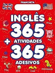 Prancheta Inglês 365 Atividades + 365 Adesivos