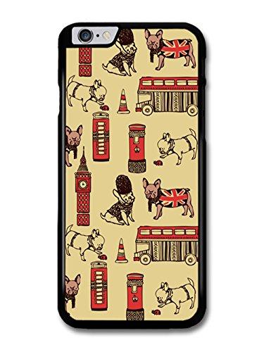 British Pug Pattern London Big Bang coque pour iPhone 6 Plus 6S Plus