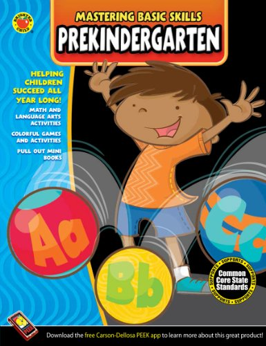 - Mastering Basic Skills® PreKindergarten Workbook