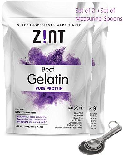Zint Protein Gelatin Collagen Health