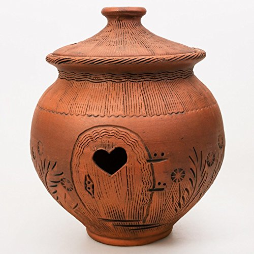 STONEWARE. Container For Onion Storage