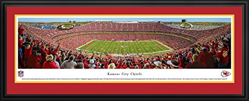Kansas City Chiefs - 50 Yard Line at Arrowhead Stadium - Panoramic Print ()