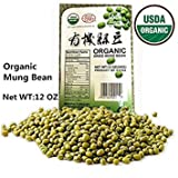buy USDA Organic Mung Bean Sprouting Seed: 12Oz, Organic Dried Mung Beans for Sprouts, Garden Planting, Chinese & Asian Cooking, Soup & More now, new 2018-2017 bestseller, review and Photo, best price $8.99