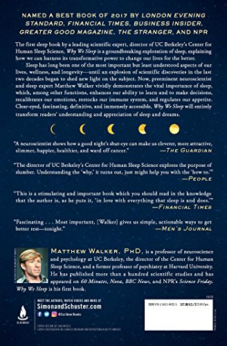 Why We Sleep: Unlocking the Power of Sleep and Dreams by Scribner (Image #1)