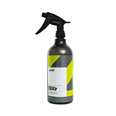CarPro Elixir Quick Detailer with Sprayer - 1 Liter - Quick Detail Provides a Fast Layer of Depth, Gloss, and Hydrophobic Energy: Automotive