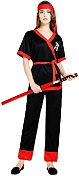 Zounghy Disfraz de Samurai para Mujer de Halloween con Disfraz ...