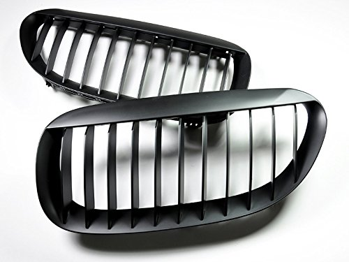 Autotecknic Matte (AutoTecknic Matte Black Front Grille - BMW e63/ e64 6 series coupe/ convertible and e6x M6)