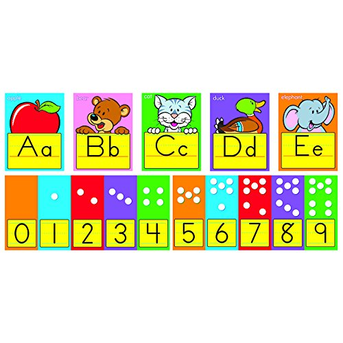 ARGUS ABC Fun Alphabet Line Zaner Bloser Bulletin Board Set (T-8137) (Abc Bulletin Board compare prices)