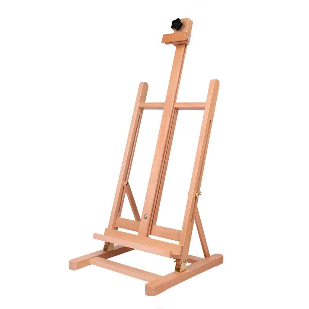 Cavalletto Piccolo da tavolino, Cavalletto da Disegno Cavalletto da Tavolo in Legno da Disegno per Studenti (Dimensioni   33  10  70.5CM)