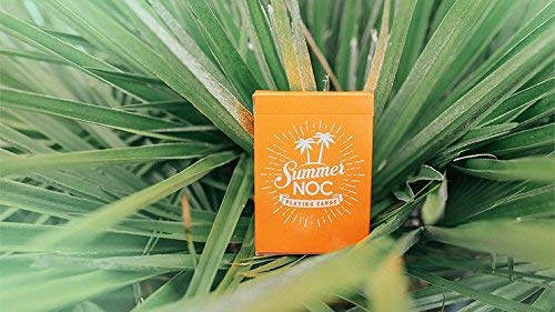 MTS Limited Edition Summer NOC Orange Playing Cards
