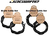 Jagwire Complete Cable Kit, Brake Shifter Cable Housing Set, Shimano / SRAM, Road / Mountain