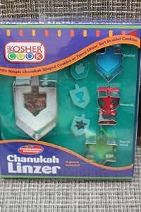 The Kosher Cook KCBW0147 Chanukah Linzer Cookie Cutter
