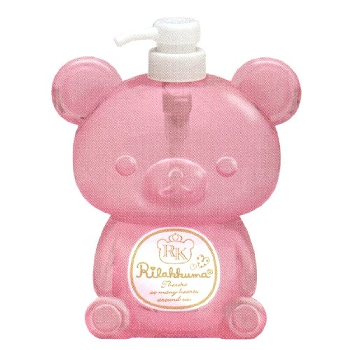 San X Bear Rilakkuma Shape Soap Dispenser (Vol. 600ml)