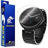 ArmorSuit MilitaryShield - Motorola Moto 360 23mm Screen Protector Anti-Bubble and Extream Clarity HD Shield with Lifetime Replacements (Released 2014)
