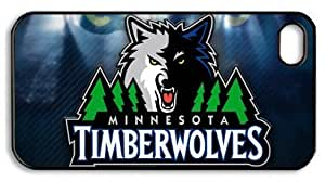 icasepersonalized Personalized Protective Case For Sumsung Galaxy S4 I9500 Cover NBA Minnesota Timberwolves Logo