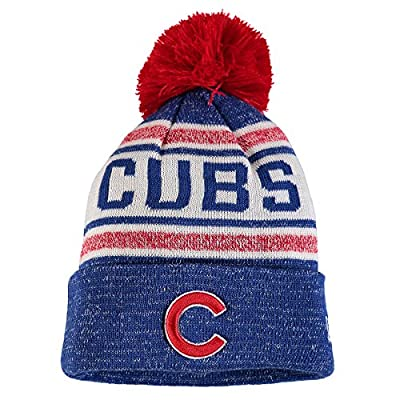Chicago Cubs MLB Toasty Cover Pom Knit Hat b03e4c93c1d