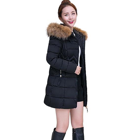 7def690e041c2 Byste Winter Warm Womens Jacket Cotton Coat Parka Thicker Outwear ...