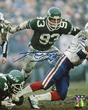 Athlon CTBL-014852 Marty Lyons Signed New York Jets 8 X 10 Photo - New York Sack Exchange