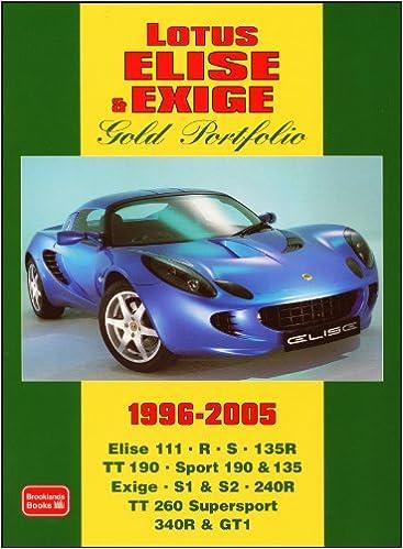 Lotus Elise Exige Gold Portfolio 1996 2005 Rm Clarke