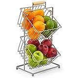 EZOWare 2-Tier Fruit Basket Stand, Kitchen Market