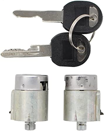 Suburban Lock And Key >> Pair Of 2 New Door Lock Cylinder Keys Set For Chevy Chevrolet Truck Blazer C1500 C2500 Suburban C3500 K1500 K2500 Cheyenne Wt