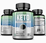 Keto Diet Pills – (60 Capsules) Advanced Ketogenic Fat Burning Support Supplement | Natural Appetite Suppressant | Promotes Mental Clarity, Focus, and Energy Pills Review