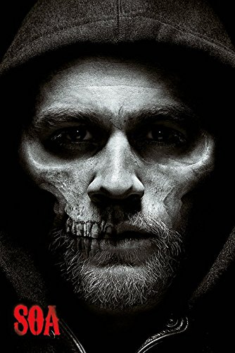 Sons Of Anarchy Jax Skull Poster 24X36