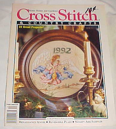 Cross Stitch & Country Crafts,  November / December 1992