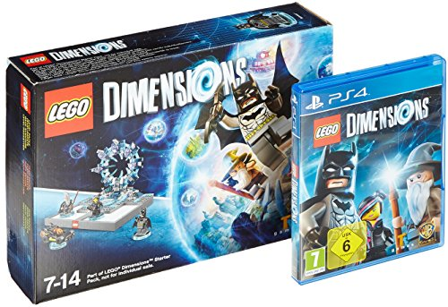 LEGO Dimensions Starter-Pack, PS4-Blu-ray Disc + Spielfigur