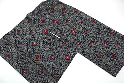 8月30日号. 正絹 大島風 羽織 リメイク用 着用を想定したではありません 表地は比較的良好