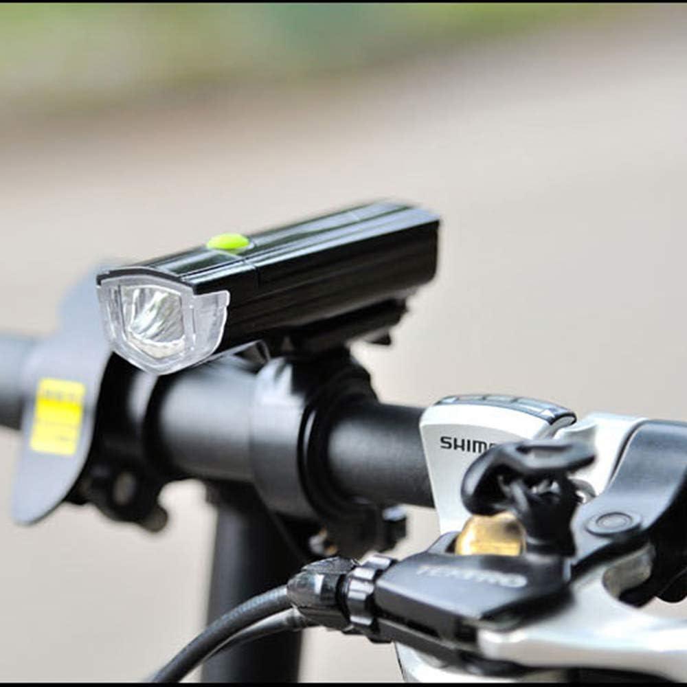 WZC Lámpara Led Luz de bicicleta de montaña Batería Montar de ...
