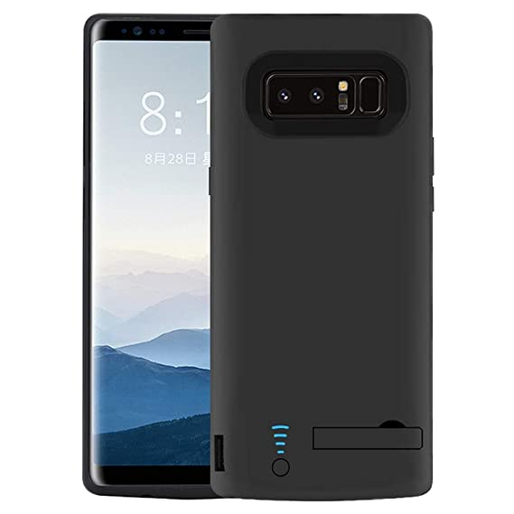 hot sale online 8c37a 66400 RUNSY Samsung Galaxy Note 8 Battery Case, 6500mAh Rechargeable Battery  Charging/Charger Case with S-Pen Hole, Adds 1.4X Extra Juice, Charges 2  Devices ...
