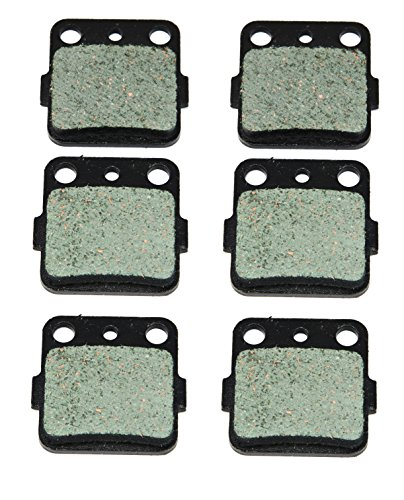 2004-2013 Yamaha YFM 350 Raptor Front and Rear Kevlar Carbon Brake Pads