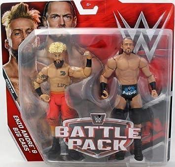 WWE Pack de Lucha Serie 45 Figuras de Acción - Enzo Amore & Big Cass! How You Doing!: Amazon.es: Juguetes y juegos