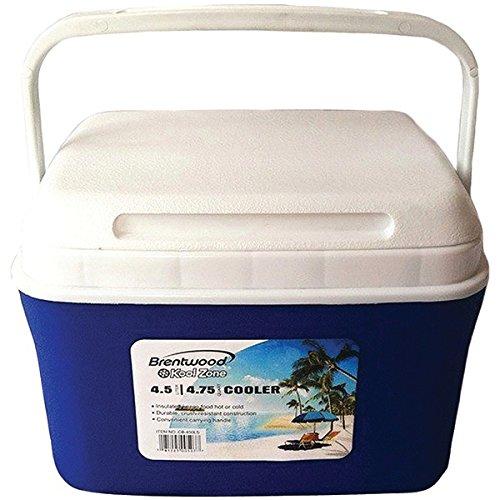 Brentwood Kool Zone CB-450LS 4.5-Liter Cooler Box ()