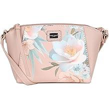 David Jones Beach Womens Floral Messenger Handbag