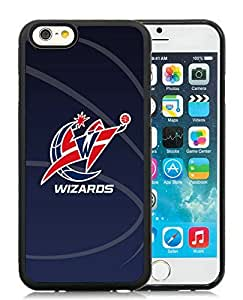 New Custom Design Cover Case For iPhone 6 4.7 Inch Washington Wizards 11 Black Phone Case