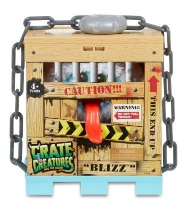 Crate Creatures set of 2, Sizzle and Blizz with FREE Crazy Aaron's Thinking Putty Mini by crate creatures (Image #1)