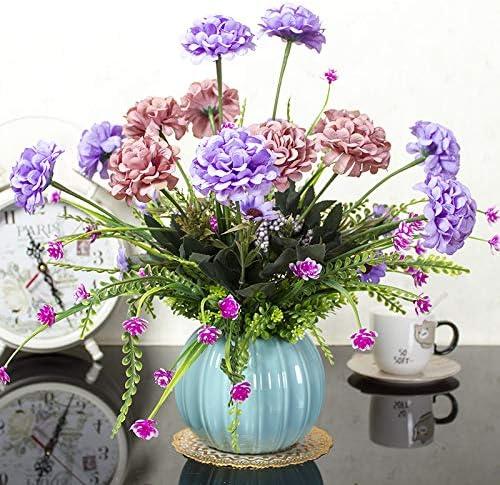 Zhihuoyou Simulación Flor Muebles De Flores De Plástico ...