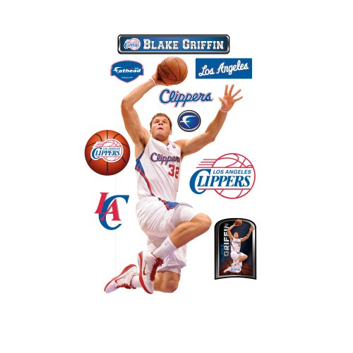 UPC 885671020904, NBA Los Angeles Clippers Blake Griffin Wall Graphic