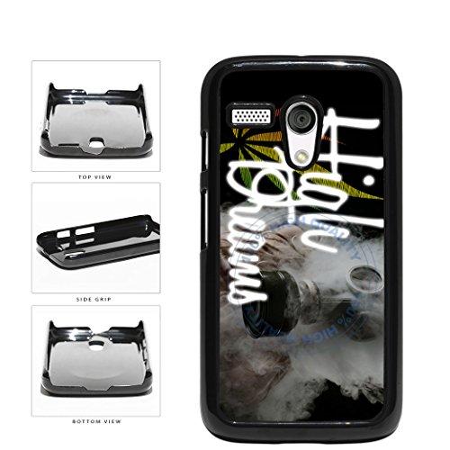 BleuReign(TM) High Dreams Plastic Phone Case Back Cover For Motorola Moto G (Motorola Moto G Case Rasta)