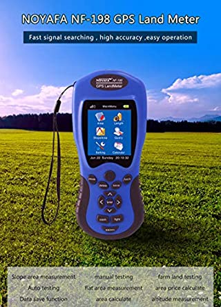 Provided Noyafa Nf-198 Gps Test Devices Gps Land Meter Can Display Measuring Value Gps & Guidance Equipment