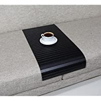Full Slatted Super Black 30cmx60cm Sofa tray, sofa table, arm table,couch tray, wooden tray,wood tray,napoli disbudak
